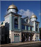 TQ3385 : Aziziye Mosque, Stoke Newington Road by Julian Osley