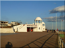 TQ7407 : Bexhill promenade by Robin Webster