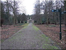 SK6464 : Lime Tree Avenue,  Rufford Park by Lorraine and Keith Bowdler