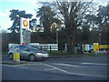 SU9081 : Entrance to Shell garage on Bath Road, Taplow by David Howard