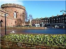 NY4055 : Carlisle Citadel's East Tower by Mary and Angus Hogg