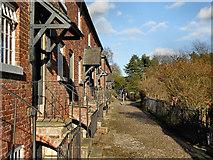 SJ8383 : Oak Cottages by David Dixon