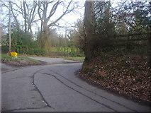 TQ2255 : Hurst Road, Walton-on-the Hill by David Howard