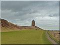 NO5301 : Wind pump at the St Monans salt pans by John Allan