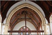 TQ2382 : St Martin, Mortimer Road, Kensal Rise - Rood by John Salmon