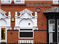 SO8996 : Porch hood, 54 Coalway Road by Alan Murray-Rust