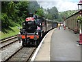 SE0335 : Steaming into Oxenhope Station by Philip Jeffrey