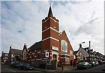 TQ2772 : Church, Lynwood Road, Tooting by John Salmon