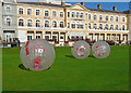 ST3161 : Weston-Super-Mare - Zorbing On The Green by Chris Talbot