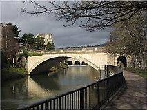 ST7564 : North Parade Road bridge, Bath by Gareth James