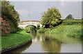 SJ6760 : Approaching Minshullhill Bridge near Church Minshull, Cheshire by Roger  Kidd