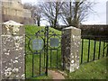 SS5504 : Gates, Morris Monument by Derek Harper