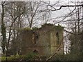 SS6308 : Brick building, Court Castle, Winkleigh by Derek Harper