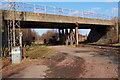 NT3269 : Old Craighall Road bridge, Millerhill by Jim Barton