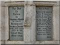 SD5526 : War Memorial (detail) by David Dixon