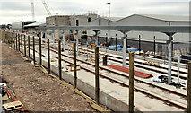 J3271 : New train maintenance depot, Belfast (35) by Albert Bridge