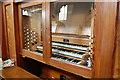 TR0546 : Organ Console, Wye church by Julian P Guffogg