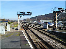 SS6593 : A view NNE from Swansea railway station by Jaggery