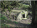 SO3375 : Cistern near Honeyhole Coppice by Dave Croker