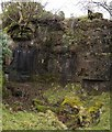 NS4377 : Disused quarry by Lairich Rig