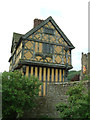 SO4381 : Stokesay Castle - Gatehouse, side view by Rob Farrow