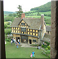 SO4381 : Stokesay Castle - Gatehouse from the tower by Rob Farrow