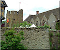 SO4381 : Stokesay Castle - Tower, Hall and curtain walls by Rob Farrow