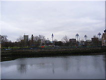 TQ4383 : The Mill Pond & Town Quay by Adrian Cable