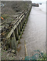 TA0824 : Disused Wharf at New Holland Dock by David Wright
