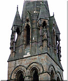 NS5766 : St Jude's Church tower by Thomas Nugent