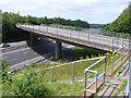SP2862 : M40 Junction 14 slip road by Nigel Mykura