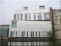 TQ2482 : Metallic building next to the Flora pub, Harrow Road by Christine Johnstone