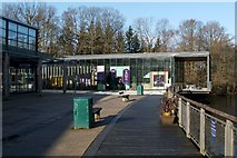 NS3882 : The National Park Gateway Centre by Lairich Rig