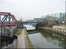 TQ2282 : The Paddington Branch of the Grand Union Canal by Christine Johnstone