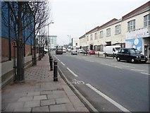 TQ2282 : Looking north up Scrubs Lane by Christine Johnstone