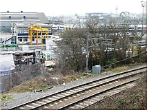 TQ2282 : Railway infrastructure, east of Willesden Junction by Christine Johnstone