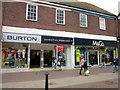 SO9670 : Bromsgrove High Street  Burtons Dorothy Perkins & M&Co by Roy Hughes