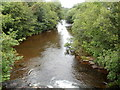 SN9228 : Confluence of the rivers Senni and Usk, Sennybridge by Jaggery