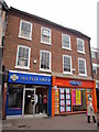 SO9670 : Bromsgrove High Street  The Peer Group & Going Places by Roy Hughes