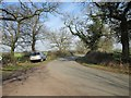 SJ4454 : Lane near Barton by Jeff Buck
