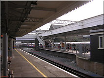 TQ2182 : Northbound Bakerloo Line train enters Willesden Junction by Christopher Hilton