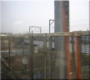 TQ2182 : Approaching Willesden Junction from the south by Christopher Hilton