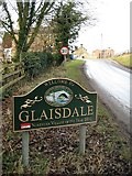 NZ7805 : Welcome to Glaisdale by Mike Kirby