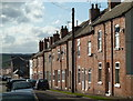 SK4669 : Terraced houses, Carr Vale, Bolsover by Andrew Hill