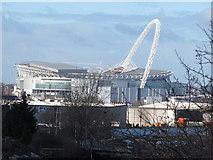 TQ1985 : Wembley Stadium by Mike Quinn