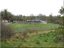 SW9873 : Wadebridge sewage works by David Hawgood