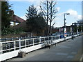 TQ1090 : Northwood Hills station platform, eastbound by Colin Pyle