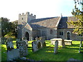 SO4402 : Grade I listed Church of St Tysoi, Llansoy by Jaggery