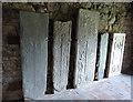 NG0483 : Tùr Chliamainn (St Clement's), Rodel - Tomb slabs by Rob Farrow