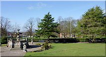 SO9097 : Landscaped grounds of the Royal Wolverhampton School by Roger  Kidd